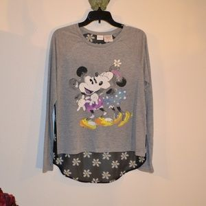 DISNEY MICKEY MINNIE TOP